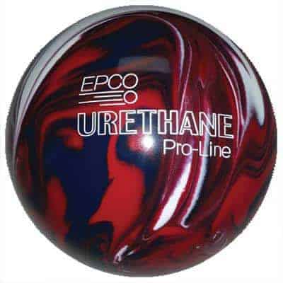 4 Balls Purple /& Pearl Starline EPCO Candlepin Bowling Ball