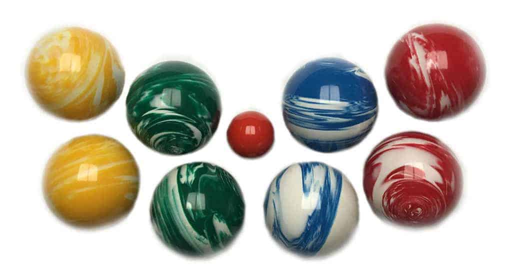 EPCO Marbleized Bocce Set