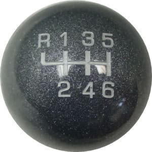 Carbon Graphite – Gloss Finish (Shown with shift pattern)