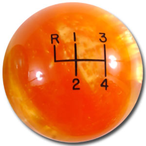 Orange Pearl (Shown with shift pattern)