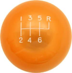 Orange Translucent (Shown with shift pattern)